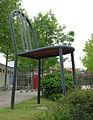 Maxistuhl Stapelstuhl von Robert Mallet-Stevens in Weil am Rhein, Sauna-Parc Laguna.jpg
