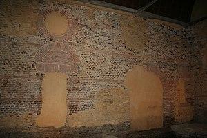 Roman-Gaul Baths of Entrammes - Image: Mayenne Entrammes thermes
