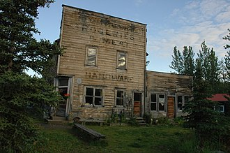 McCarthy, Alaska - The old McCarthy hardware store
