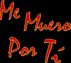 Me Muero Por Ti Wikipedia La Enciclopedia Libre