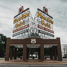 The Meadow Gold Sign Has Greeted Route 66 Travelers In Tulsa For Decades