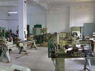 Government College of Engineering & Textile Technology Serampore - Image: Mechworkshop gcetts