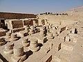 Medinet Habu Ramses III. Tempel Sanktuar 02.jpg