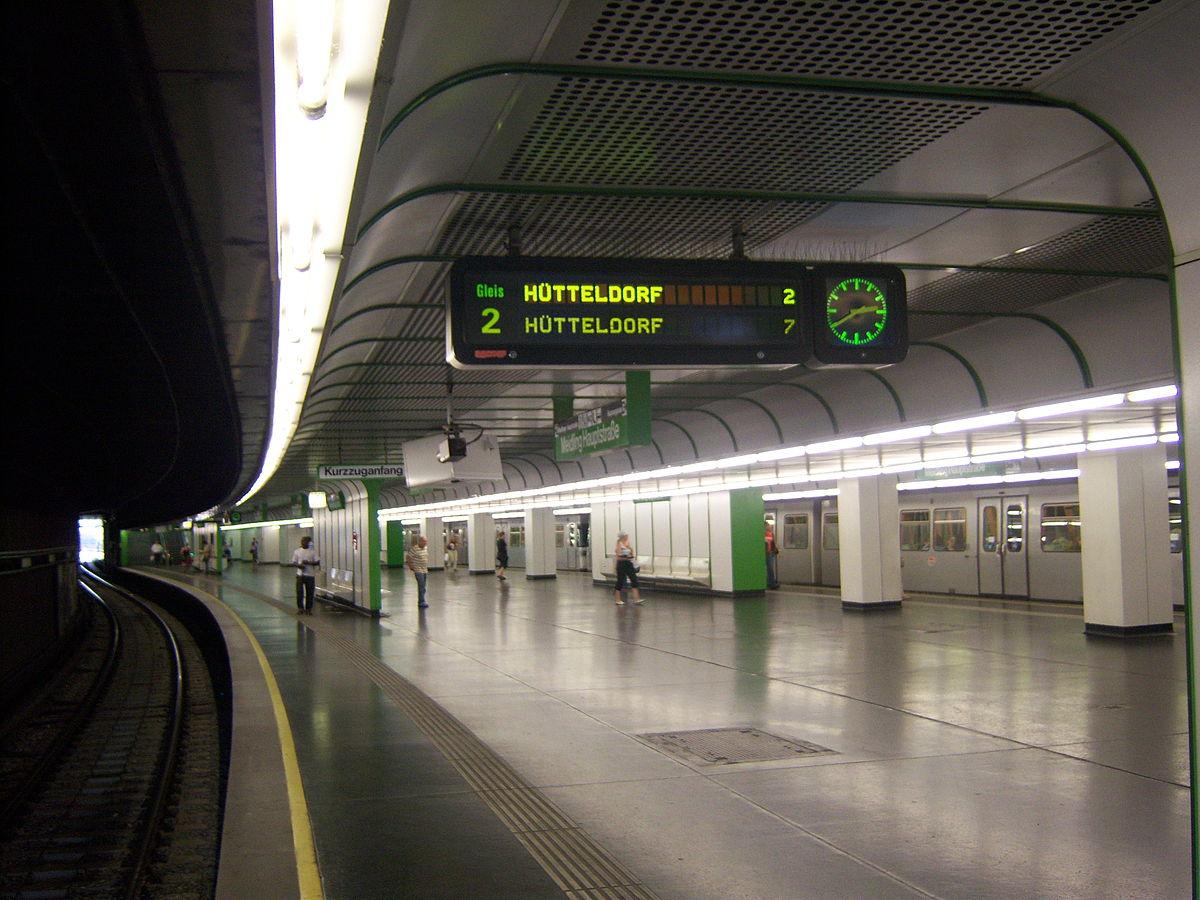 U Bahn Station Meidling Hauptstraße Wikipedia