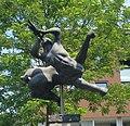 Meierijstad schijndel kunstwerk fluitspelende centaur.jpg