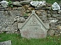 Memorial stone Wythop Old Church Kelswick - geograph.org.uk - 74598.jpg