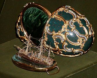 Memory of Azov (Fabergé egg) - Memory of Azov Egg