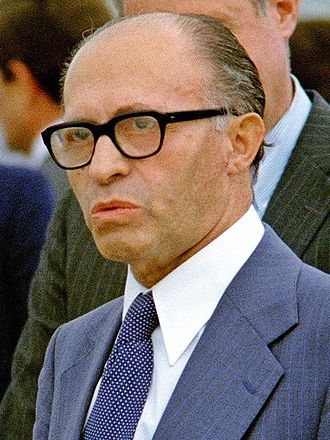 Likud - Image: Menachem Begin, Andrews AFB, 1978