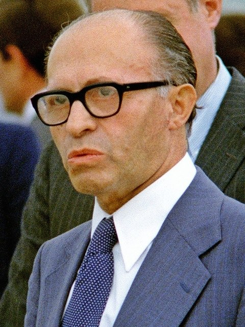 מנחם בגין בשנת 1978