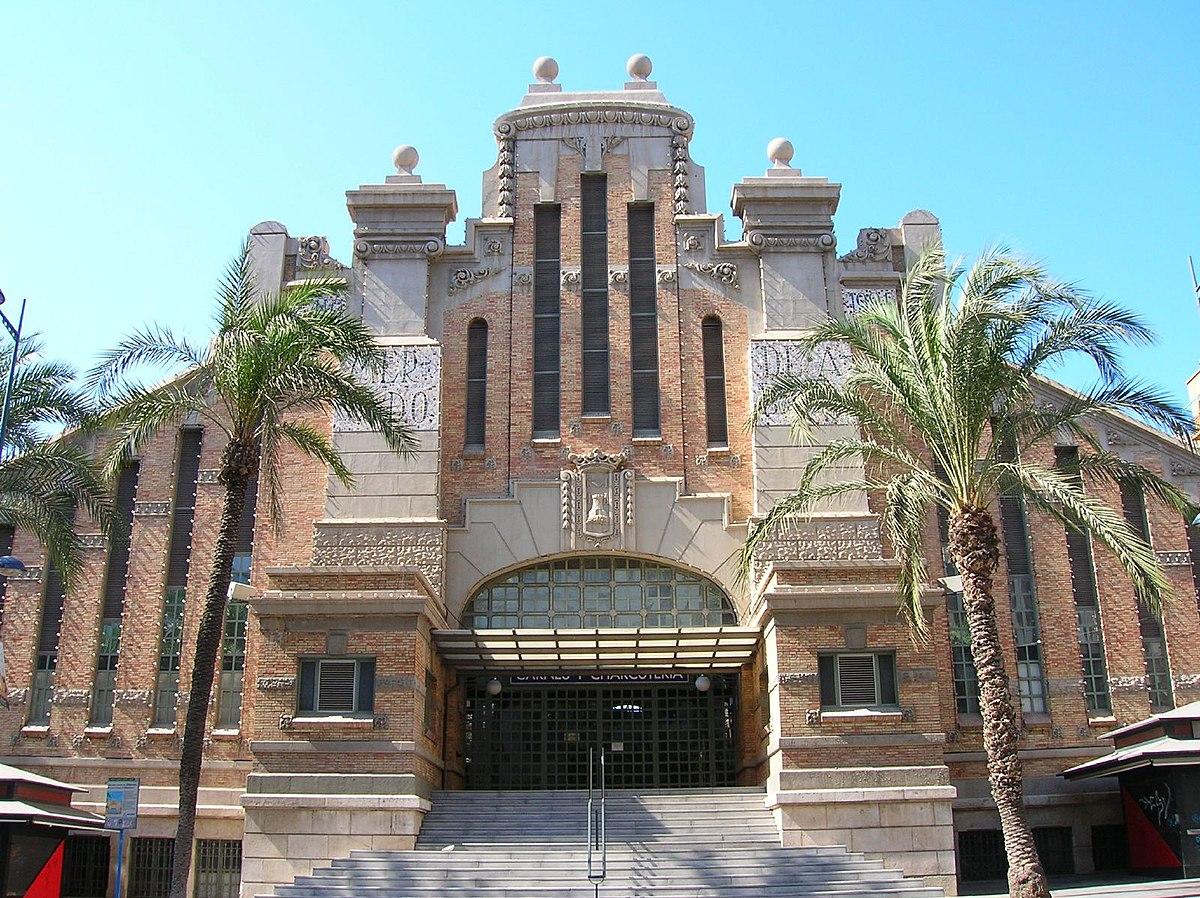 Mercado Central de Alicante - Wikipedia, la enciclopedia libre