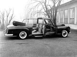 Landaulet - Mercedes-Benz 300d landaulet