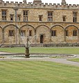 Mercury, fountain in Tom Quad, Christ Church, Oxford - geograph.org.uk - 187947.jpg