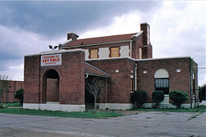 Meridian Regional Airport - The old terminal building
