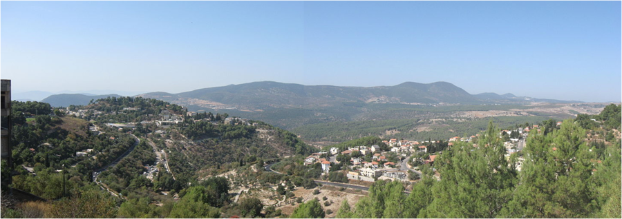 רכס הרי מירון מצפת