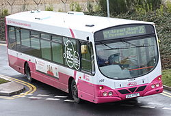Metro (Belfast) bus 797 (UCZ 8797) 2003 Scania L94UB Wright Solar, 25 February 2010 (1).jpg