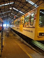 Metrocar 4060, Tyne and Wear Metro depot open day, 8 August 2010.jpg