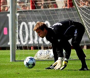 Michael Rensing goalkeeper FC Bayern Munich