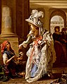Michel Garnier Une Merveilleuse sous les arcades du Palais Royal 1787.jpg