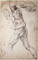 Michelangelo - Study of a striding male Nude.jpg