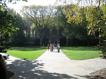 English: The Quadrangle at the University of M...