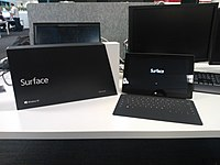 Microsoft Surface tablet computer and its box.jpg