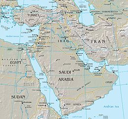 Middle East  Wikipedia