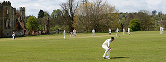 Midhurst - April 2015, Midhurst CC game against Headley 3 in the I Anson league