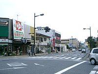 緑町4丁目交差点より新所沢駅西口方面を望む(2006年9月)