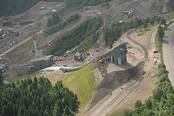 Midtstubakken under construction aerial.jpg