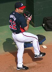 Mike Hampton jako zawodnik Atlanta Braves