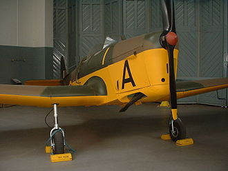 Miles Magister - Miles Magister at the Imperial War Museum, Duxford
