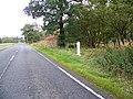 Milestone near Shiphams - geograph.org.uk - 1557613.jpg