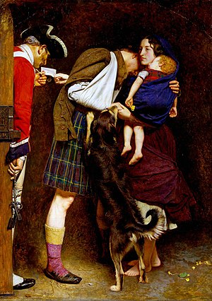 The Order of Release - Image: Millais Order of Release