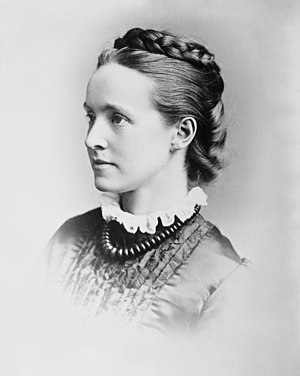 Conservative and Unionist Women's Franchise Association - Millicent Fawcett, leader of the NUWSS