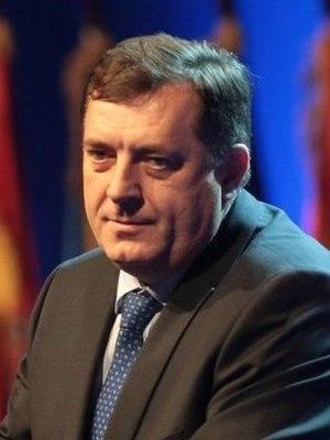 President of Republika Srpska - Image: Milorad Dodik mod cropped