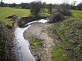 Mimmshall Brook near Potters Bar - geograph.org.uk - 140720.jpg