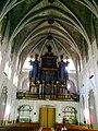 Minorque Mao Place Conquesta Eglise Santa Maria Orgues - panoramio.jpg