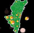 Miyazaki beef map based on 2016.png
