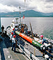 Mk 48 torpedo on hoist 1982.JPEG