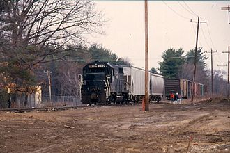 Manchester and Lawrence Railroad - Image: Mlsalem 1