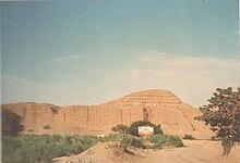 huaca del sol en Moche