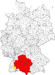 Charte vo Schwoba im heitiga Deitschland