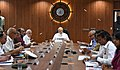 Modi chairing a high level meeting H2018081852326.JPG