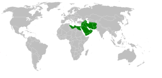 Uthman - Image: Mohammad adil rais rashidun empire at its peak
