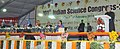 """Mohd. Hamid Ansari delivering the valedictory address at the """"101st Session of Indian Science Congress"""", at University of Jammu, in Jammu (Jammu & Kashmir). The Governor of Jammu and Kashmir, Shri N.N. Vohra.jpg"""