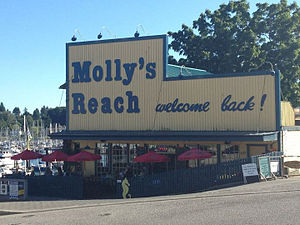 The Beachcombers - Molly's Reach, as featured in the program