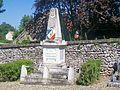 Monceaux (60), monument aux morts, au cimetière, place de l'Église.jpg