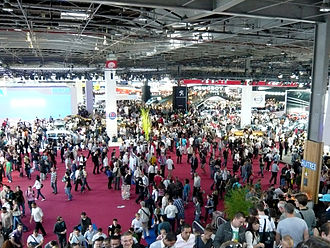 2010 Paris Motor Show - General floor view, 2010 Paris Motor Show.