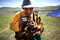 Mongolia Naadam Spectator.JPG