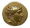 Monnaie en or, Lucanie, Métaponte, face.jpg